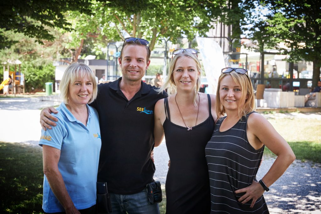 Hermine, Hari, Caro & Dani